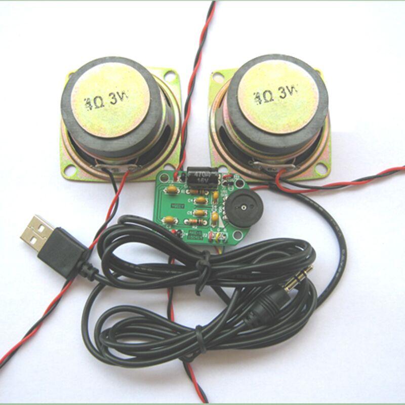 MINI PAM8403 Amplificateur de Puissance Haut-Parleur Kit DIY Conseil Module DC 4.5-5 V 42x31mm Électronique Kits costume