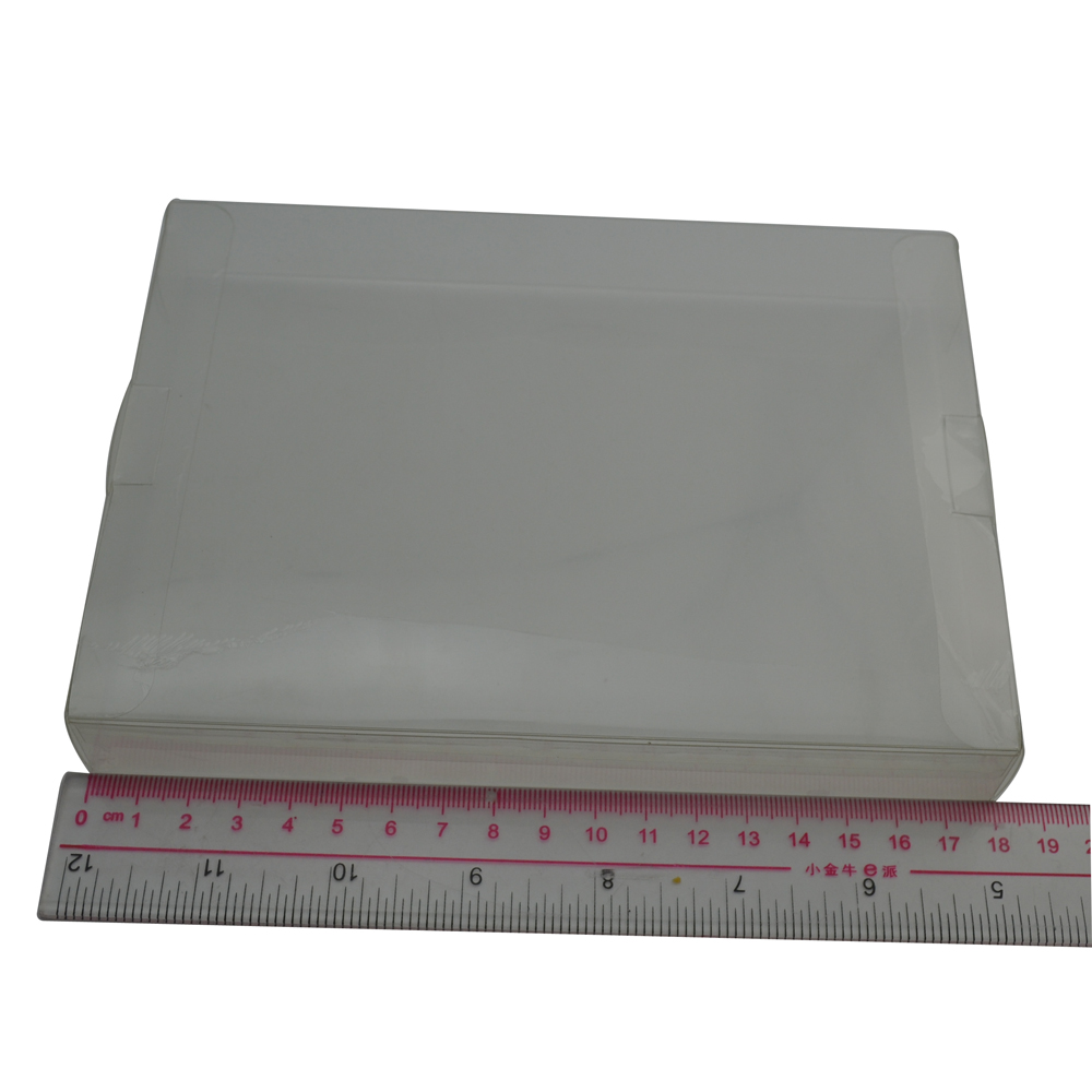 100pcs a lot Clear transparent for 8-bit NES Game Box CIB games plastic PET NES Protector Case for Nintendo game boxes