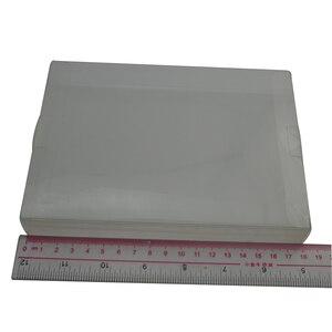 Image 1 - 100pcs veel Clear transparant voor 8 bit NES Game Box CIB games plastic HUISDIER NES Protector Case voor Nintendo game dozen