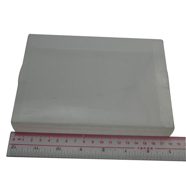 100pcs veel Clear transparant voor 8 bit NES Game Box CIB games plastic HUISDIER NES Protector Case voor Nintendo game dozen