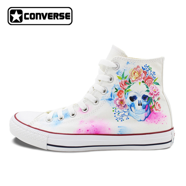 converse flores mujer
