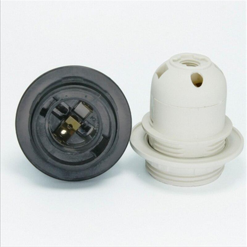 E27 držač plastične svjetiljke E27 10pcs / lot E27 vijak Edison - Različiti rasvjetni pribor - Foto 3
