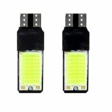 цена на New 2x T10 LED 194 168 W5W COB Interior Bulb Light Parking Backup Brake Lamps Pop
