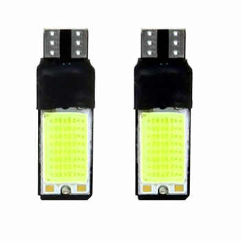 New 2x T10 LED 194 168 W5W COB Interior Bulb Light Parking Backup Brake Lamps Pop