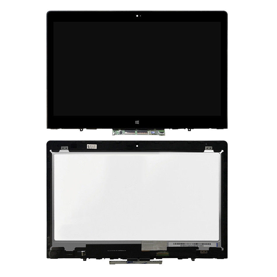 for Lenovo ThinkPad Yoga 460 Lcd Screen Assembly Bezel with touch control board 01AW135 NV140FHM N45