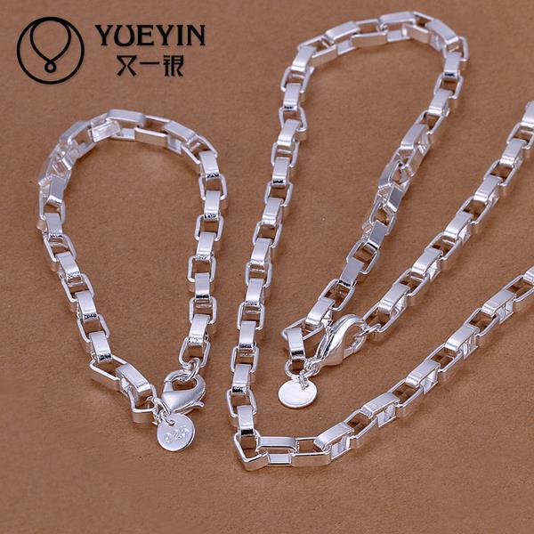 66a60f59044b2 Wholesale fashion silver jewelry sets