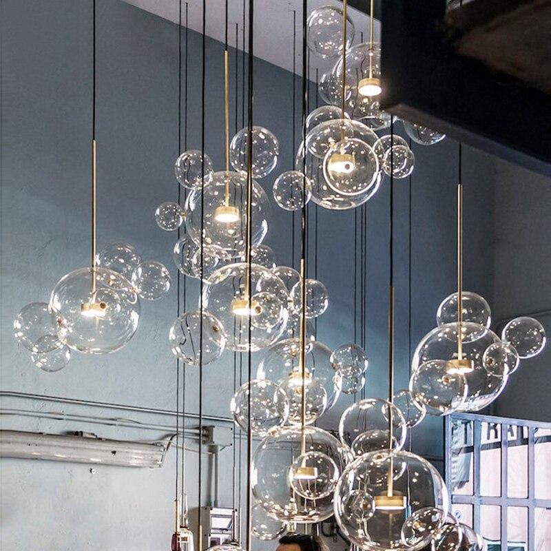 Postmodern minimalist molecular Nordic pendant lights ...