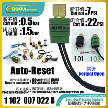 Pressure-Switches-Is-Great-Choice for Low-Temperature-Equipments Cartridge Light-Weight