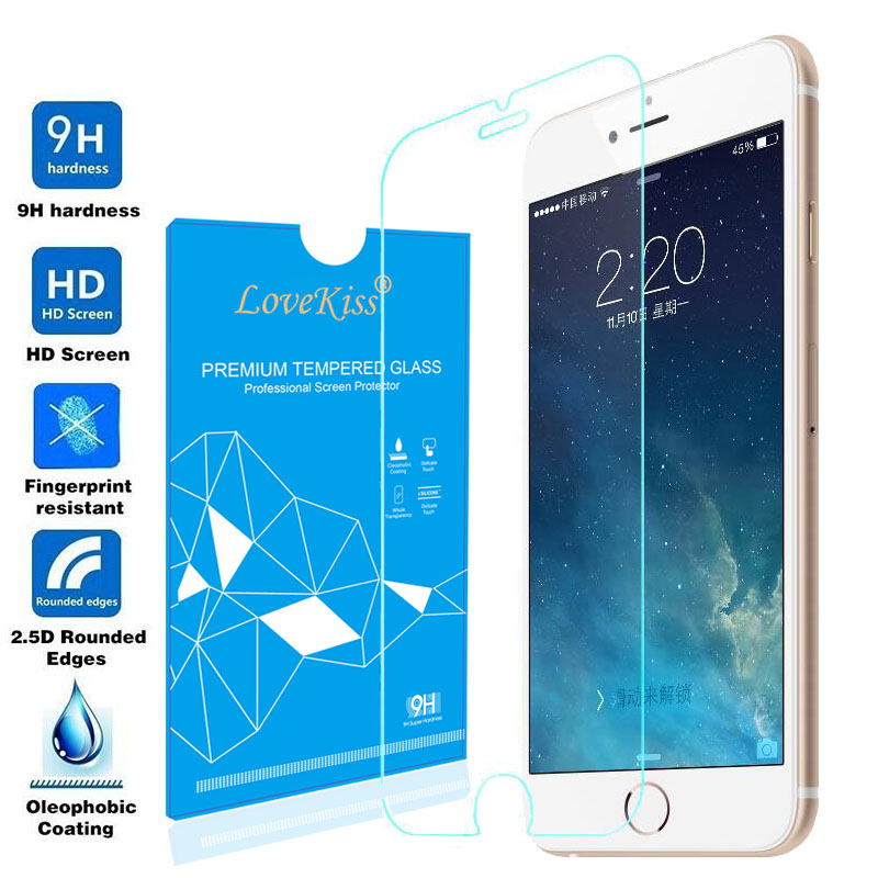 Ultra Thin H HD vidrio templado Real Premium Tempered Glass Toughened Screen