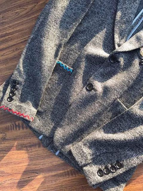 2018 new High Quality fashion Coats & Jackets Runway Summer man Brand Luxury Men's Clothing A1040
