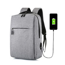 2019 Fashion Men Women School Backpack Laptop 15.6 Inch Notebook With USB charging Bagpack Men Bag Male Female Travel Backpacks