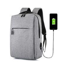 2019 Fashion Men Women School Backpack Laptop 15.6 Inch Notebook With USB charging Bagpack Men Bag Male Female Travel Backpacks zoropaul 2017 new men bagpack backpacks men s fashion backpack