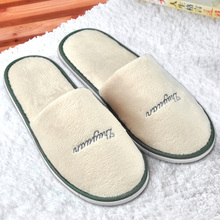 Comfortable Hotel Soft Slippers Thickening Cotton-Padded Shoes Unisex Slip-resistant Indoor Slippers Home Shoes Many Colors
