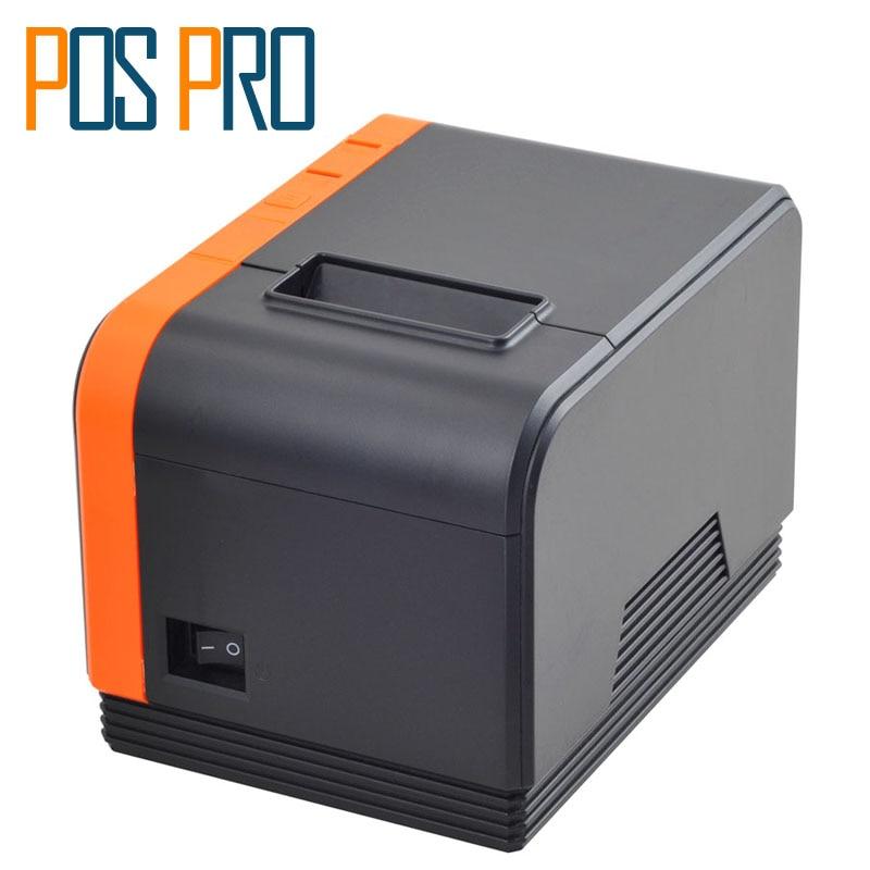 цены на I58TP15 New Arrival!! New Design!! Big gear 120mm/s 58mm Thermal Receipt Printer pos58 printer Command ESC/POS 100-240V в интернет-магазинах