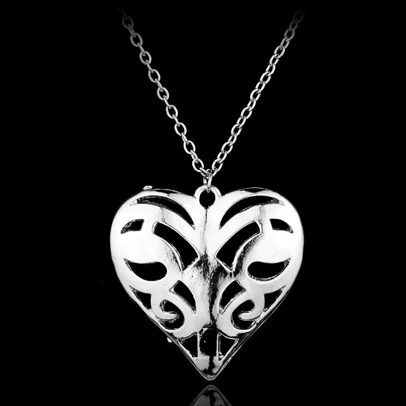 Vampire Diaries Caroline's Heart Pendant Necklace