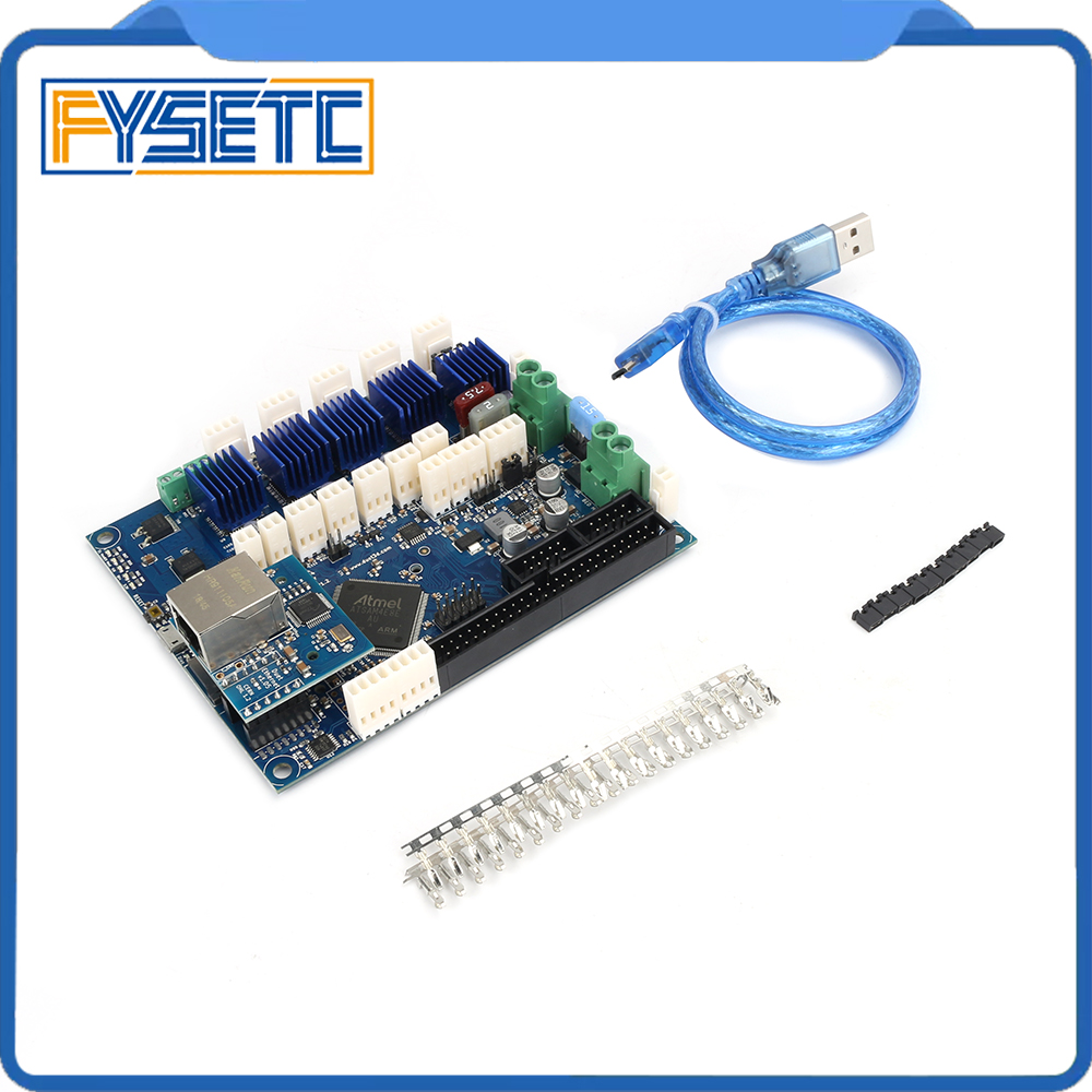 Cloned Duet Ethernet Advanced 32 Bit Electronics Board V1.04 Providing Ethernet Connectivity For 3D Printers CNC Machines