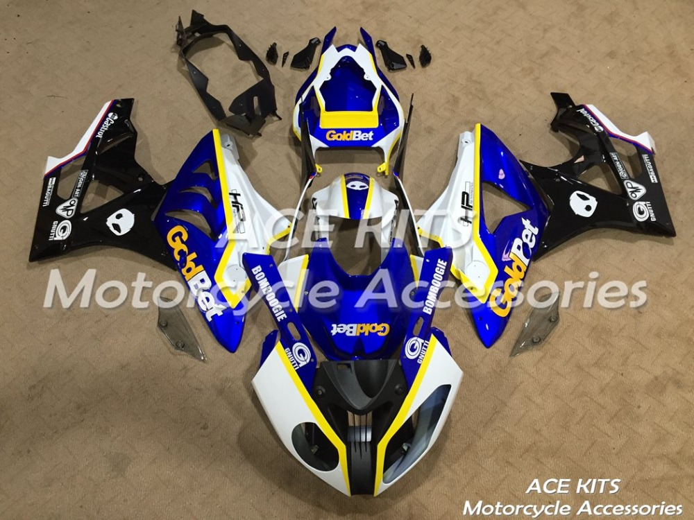New ABS motorcycle Fairing For  BMW S1000RR 2009 2010 2011 2012 2013 2014  Injection Bodywor All sorts of color  No.376