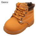 New Childrens Snow Boots Warm Faux Leather Motorcycle Boys Girls Kids Plush Thick Cotton Shoes Waterproof Ankle Boots