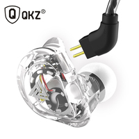 QKZ VK1 ZS10 Headphones 4 Driver In Ear Earphone 4 Dynamic Armature Earbuds HiFi Bass Headset Noise Cancelling In Ear Monitors