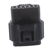 Black Waterproof Electrical Wiring ELECTRICAL WIRING Multi connectors 2 3 4 6 PIN Size: 12 Pin Sets: 1 Sets(China)