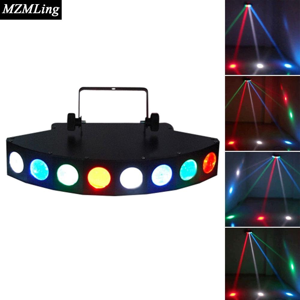8x3w CREE LED Beam Light 8 Eyes RGBW LED Light DMX512 Stage Light Professional Dj /Bar /Party /Show /Stage Light led 36x3w rgbw beam light dmx512 cree moving head light professional dj bar party show stage light