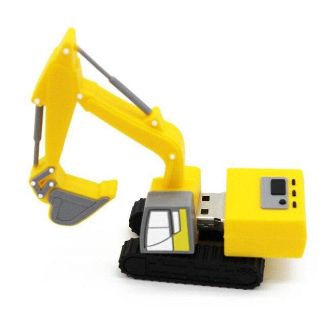 Truck excavator model USB stick flash drive