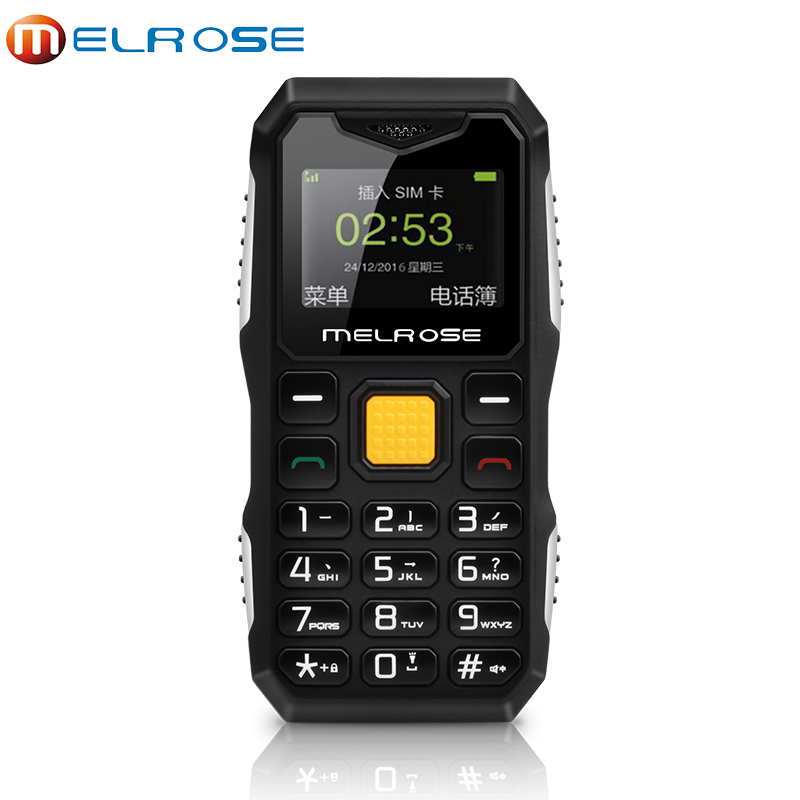 Original Melrose S10 Mini Phone MP3 Bluetooth Ultra thin 1 0Inch Rugged Outdoor Shockproof Dustproof Phone