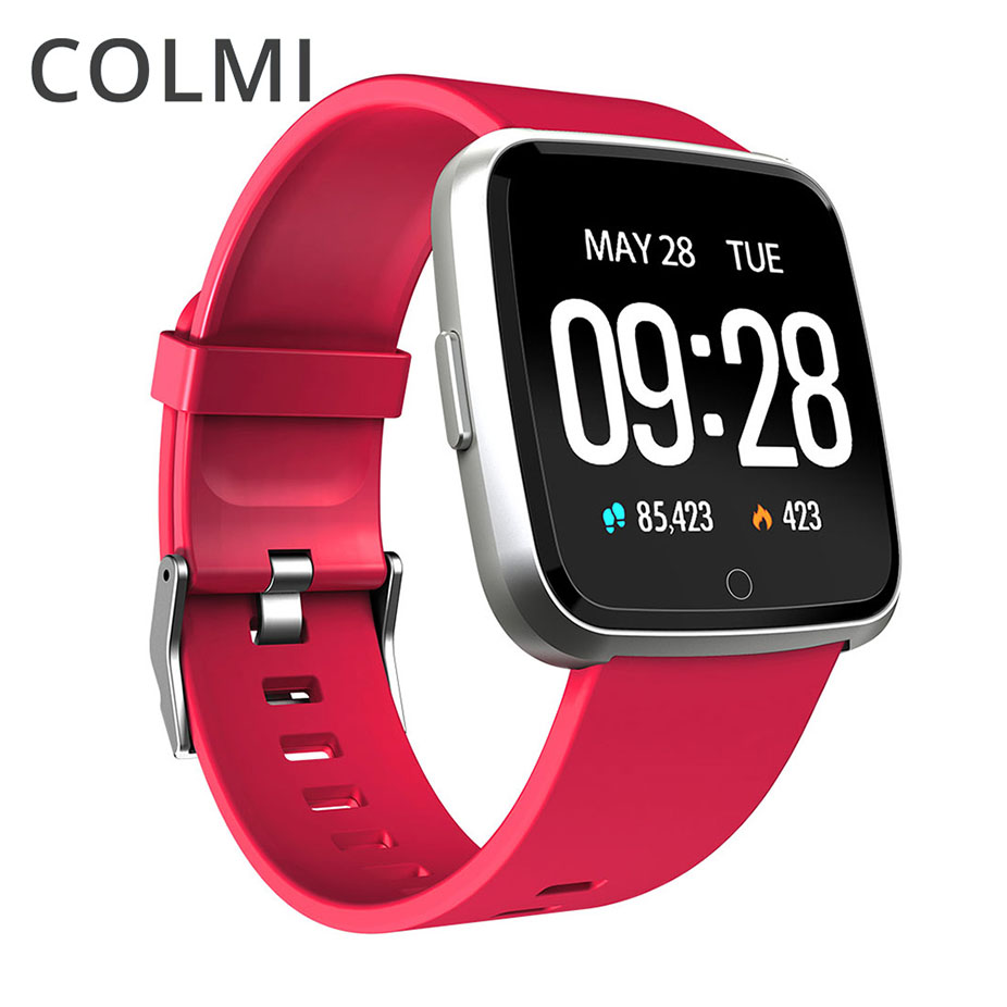 COLMI Smart watch IP67 Waterproof Fitness Tracker Heart Rate Monitor Blood Pressure Women men Clock Smartwatch For Android IOS colmi v11 smart watch ip67 waterproof tempered glass activity fitness tracker heart rate monitor brim men women smartwatch