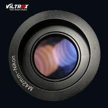 Viltrox M42-NIKON Переходники объективов кольцо с объективом Бесконечность фокус для M42 объектив Nikon F крепление D700 D800 D3100 D3300 DSLR камера