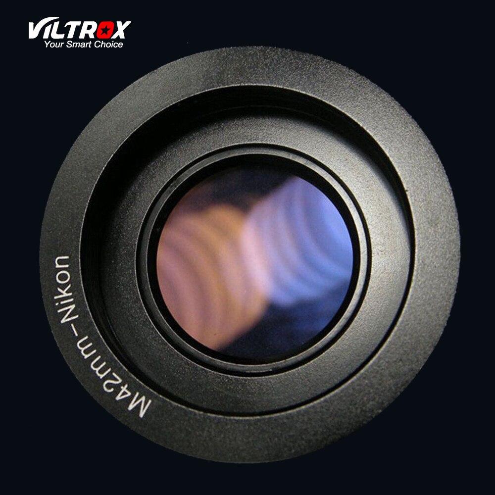 Viltrox M42-Nikon Lens Adapter Ring Mit Objektiv Unendlichkeit Fokus Für M42 objektiv Nikon F Mount D700 D800 D3100 D3300 Dslr-kamera
