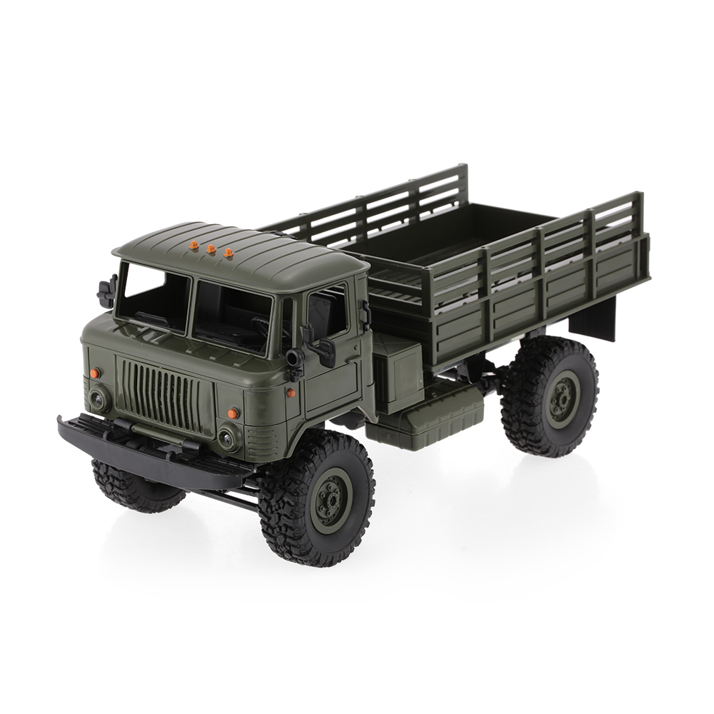 GoolRC B-24 1/16 RC Car Part RC military Car Lorry Rock Crawler Army Cars with Motor and Servo Assembly DIY Set Toys Kit Gift цена