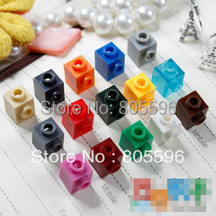 Elements Brick Parts 87087 Brick Modified 1 x 1 with Stud on 1 Side Classic Piece Building Block Toy Accessory Bricklink 075
