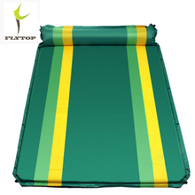FLYTOP Outdoor Camping mat 1 person inflatable mattress 2 Self-inflating beach Air With pillow