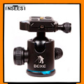 Beike BK-03 Aluminum Alloy Tripod Ball head With Quick Release Plate &Two levels Maximum Load 8KG For Benro Manfrotto