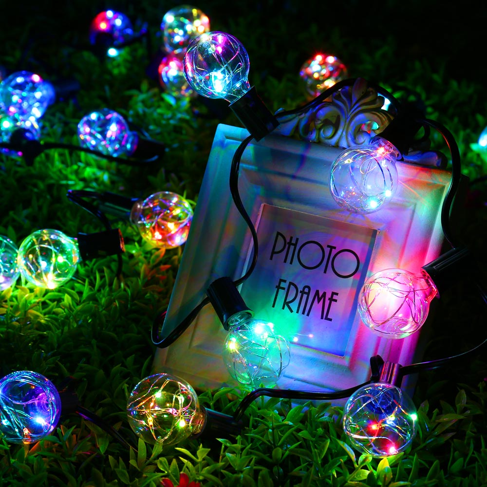aliexpress com buy new outdoor 25ft g40 bulb globe string lights
