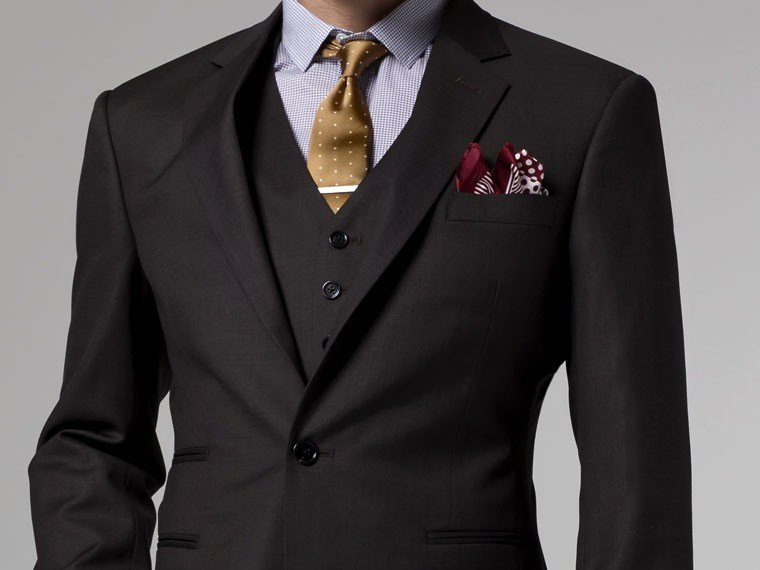 Aliexpress.com : Buy Mens 3 Piece Suit Tailored Made 2015 Winter