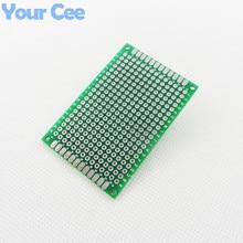 4X6cm DIY Prototype Paper PCB Universal Circuit Board Printed Circuit Practice Board Double Side Board 1.6mm 2.54mm Glass Fiber