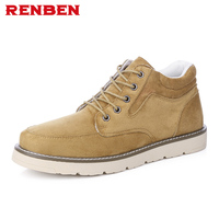 Hot Sale Casual Shoes Men Spring Autumn Solid Lace up Man Fashion Flat With Pu Leather Shoe