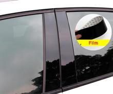 6pcs for MITSUBISHI ASX Lancer Outlander 2014-2018 Car window Trim B column Decorative flim PC Mirror protect flim 6av7 872 2 for panel pc 677 b