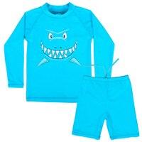 Retail New Girls Kids Hot Pink Blue SZ2 8Y Swimsuit Kids Swimwear Bikini Set Hat Bathing