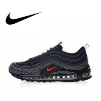 Оригинальный Nike Оригинальные кроссовки Air Max 97 светоотражающий логотип 2018 Мужская обувь Беговая Спортивная обувь Открытый Кроссовки Новое