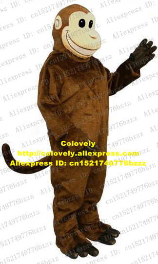 Costumes & Accessories Naughty White Monkey Orangutan Gorilla Pongo Chimpanzee Ape Hominoidea Mascot Costume With Plush Long Fur Round Ears No.6534 Fs Cheap Sales Novelty & Special Use