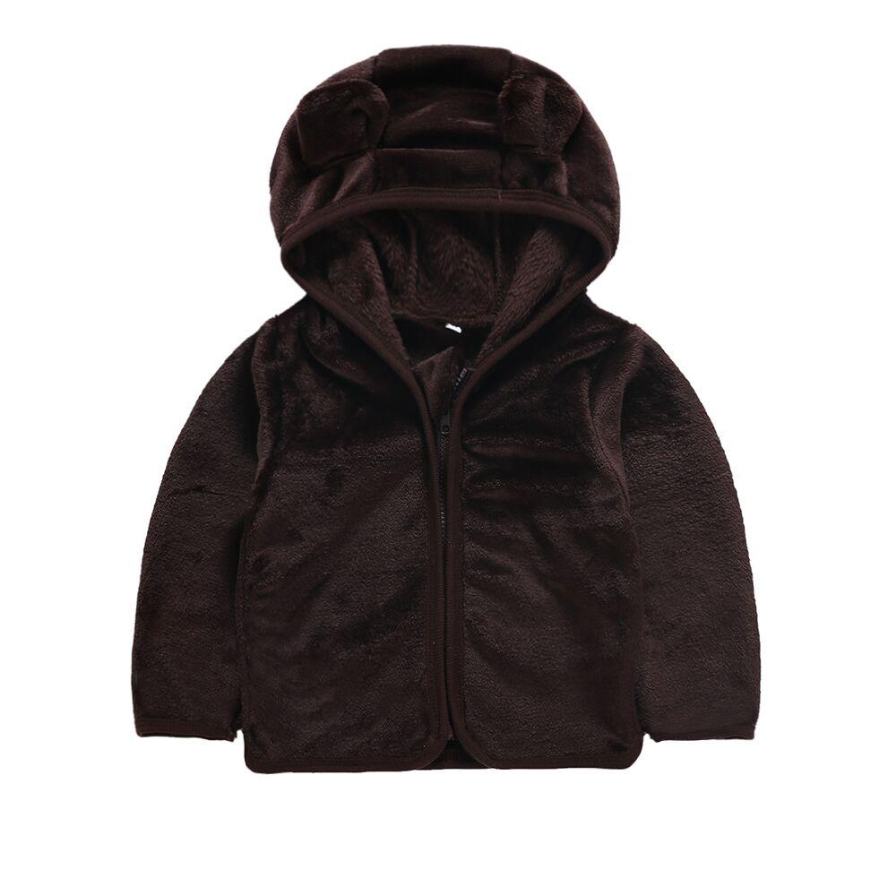 ea60bd457a31 2 6Y Kids Baby Boy Hoodie Top Hooded Sweatshirt Hooded Winter Coat ...