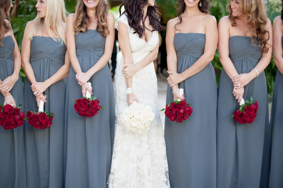 Cheap Grey Bridesmaid Dresses With Criss Cross Off The Shoulder