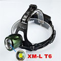 2000 Lumen LED Headlamp CREE XM-L T6 3 Mode Headlight Head lamp Waterproof Flashlight Torch For Camping Travel Head light