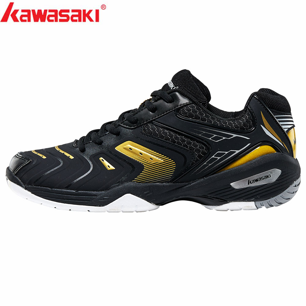 2019 Kawasaki Badminton Shoes Men Zapatillas Deportivas Wear-resistant Breathable Sneakers Sport Shoes K-353 K-522