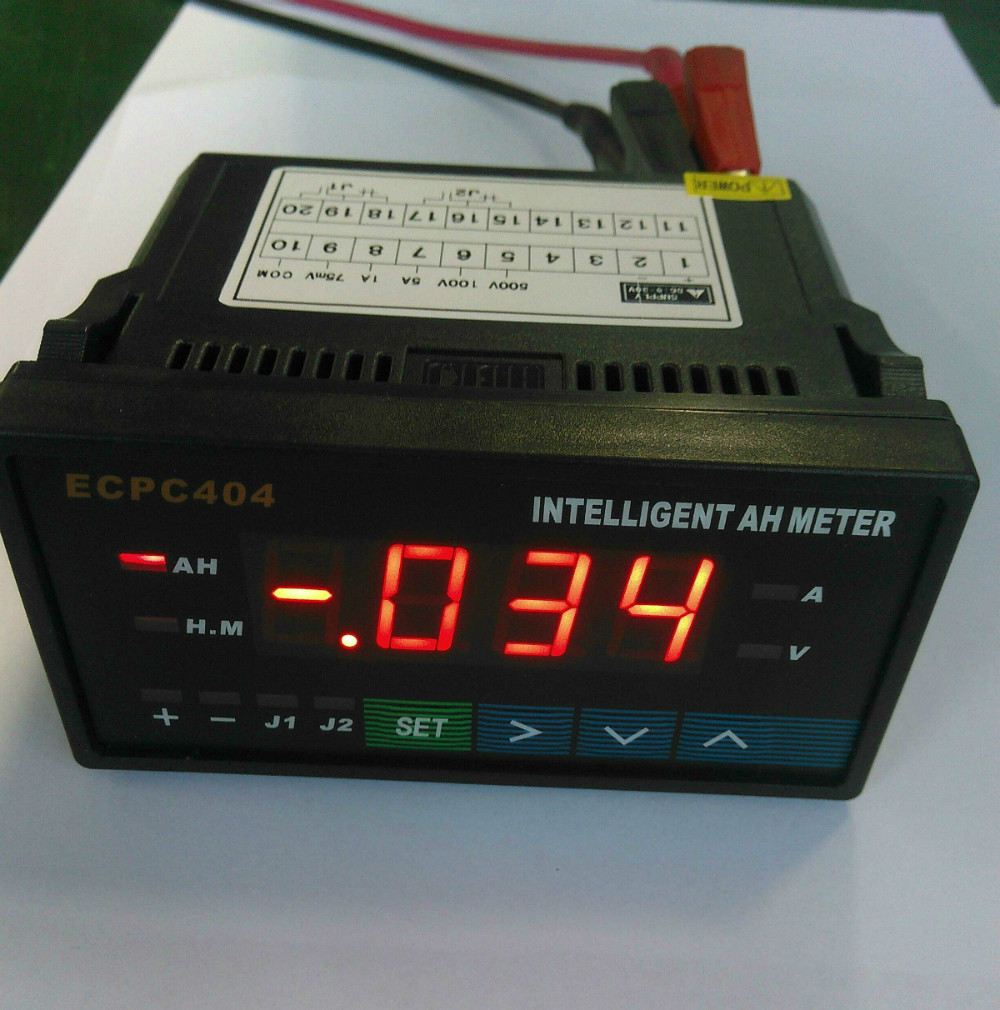 Backup Battery For Amp Meter : Aliexpress buy intelligent amp hour meters hb top
