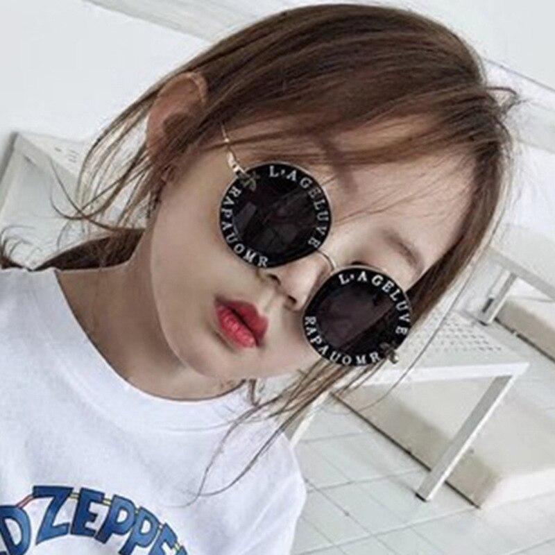 Glorieus Steampunk Bee Kids Zonnebril Jongens Meisjes Luxe Vintage Kinderen Zonnebril Ronde Zonnebril Oculos Feminino Accessoires