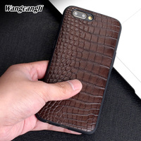 Wangcangli Natural Crocodile belly skin phone case for OPPO R11 Genuine leather phone case all inclusive protection case