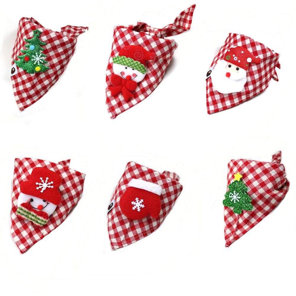 Aliexpress.com : Buy 1pcs Christmas Dog Bandana Cotton ...